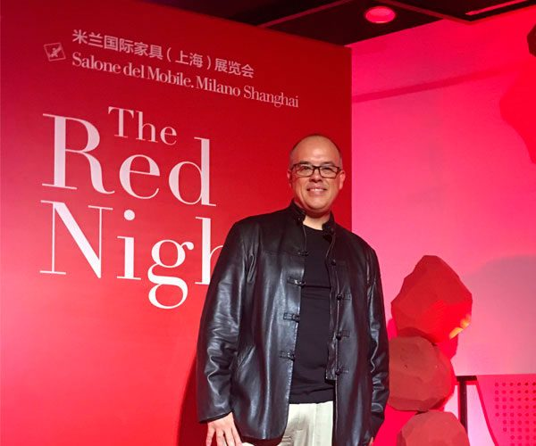 iSaloni. Shanghai. Red Night Party. October 2018