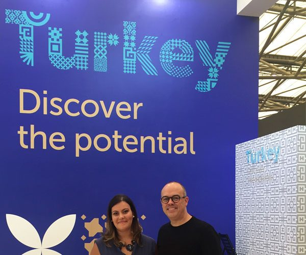 CANTON FURNITURE FAIR. TURKEY PROMOTIONAL STAND. 2016